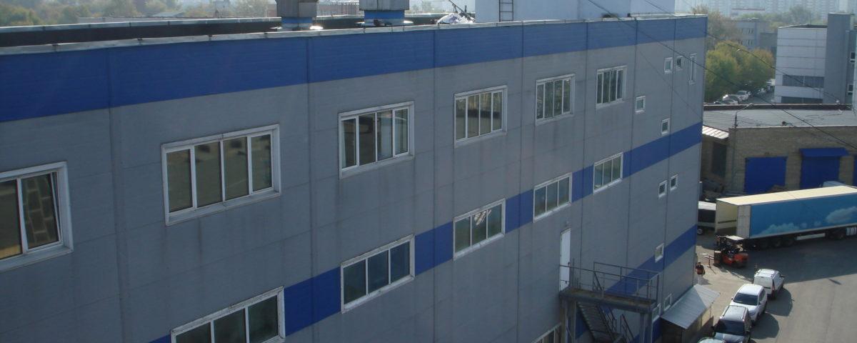 Ремонт мягкой кровли промышленного здания